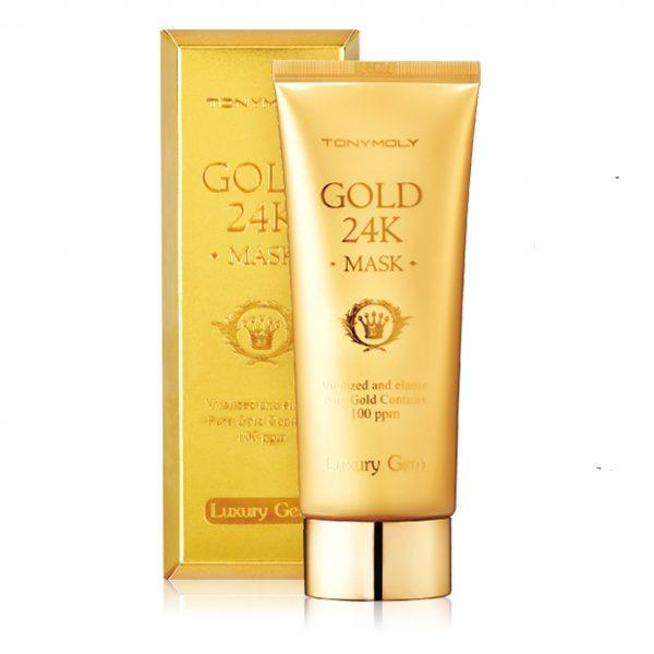 gold 24k mask